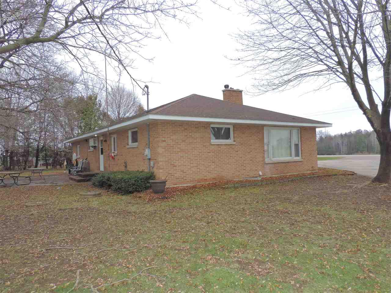 View Single-Family Home For Sale at 10907 HWY 32, Suring, WI