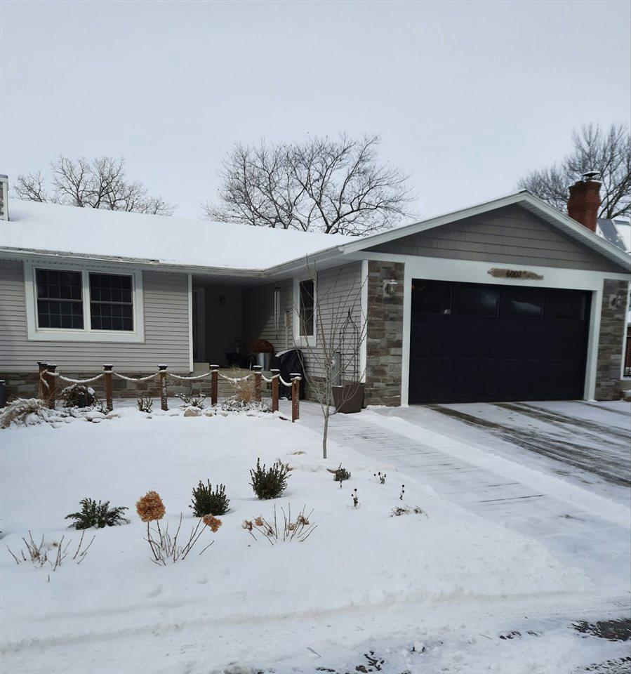 View Single-Family Home For Sale at 6007 SUNSET SHORES ROAD, Luxemburg, WI