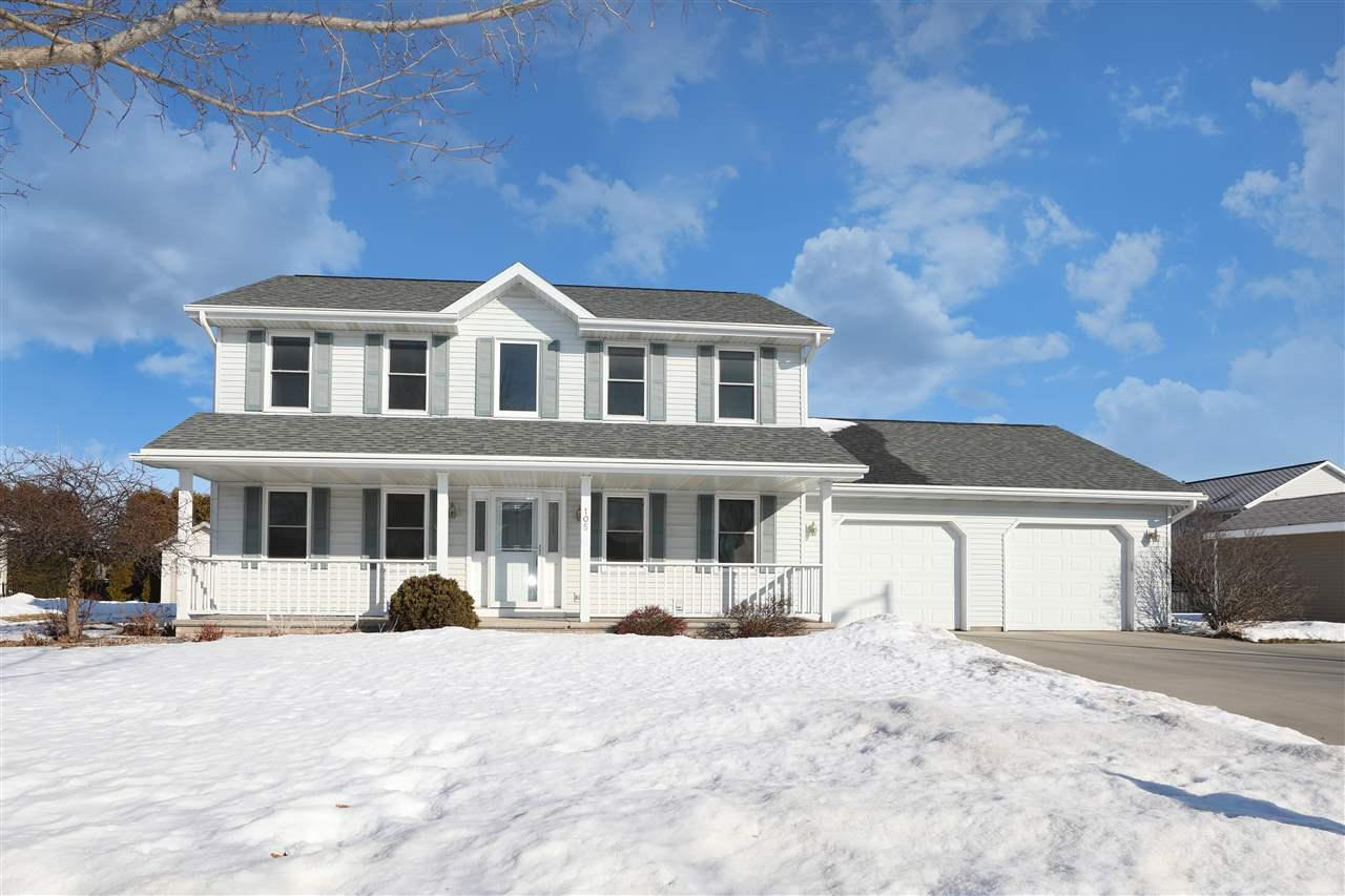 View Single-Family Home For Sale at 105 KAYLA STREET, Combined Locks, WI
