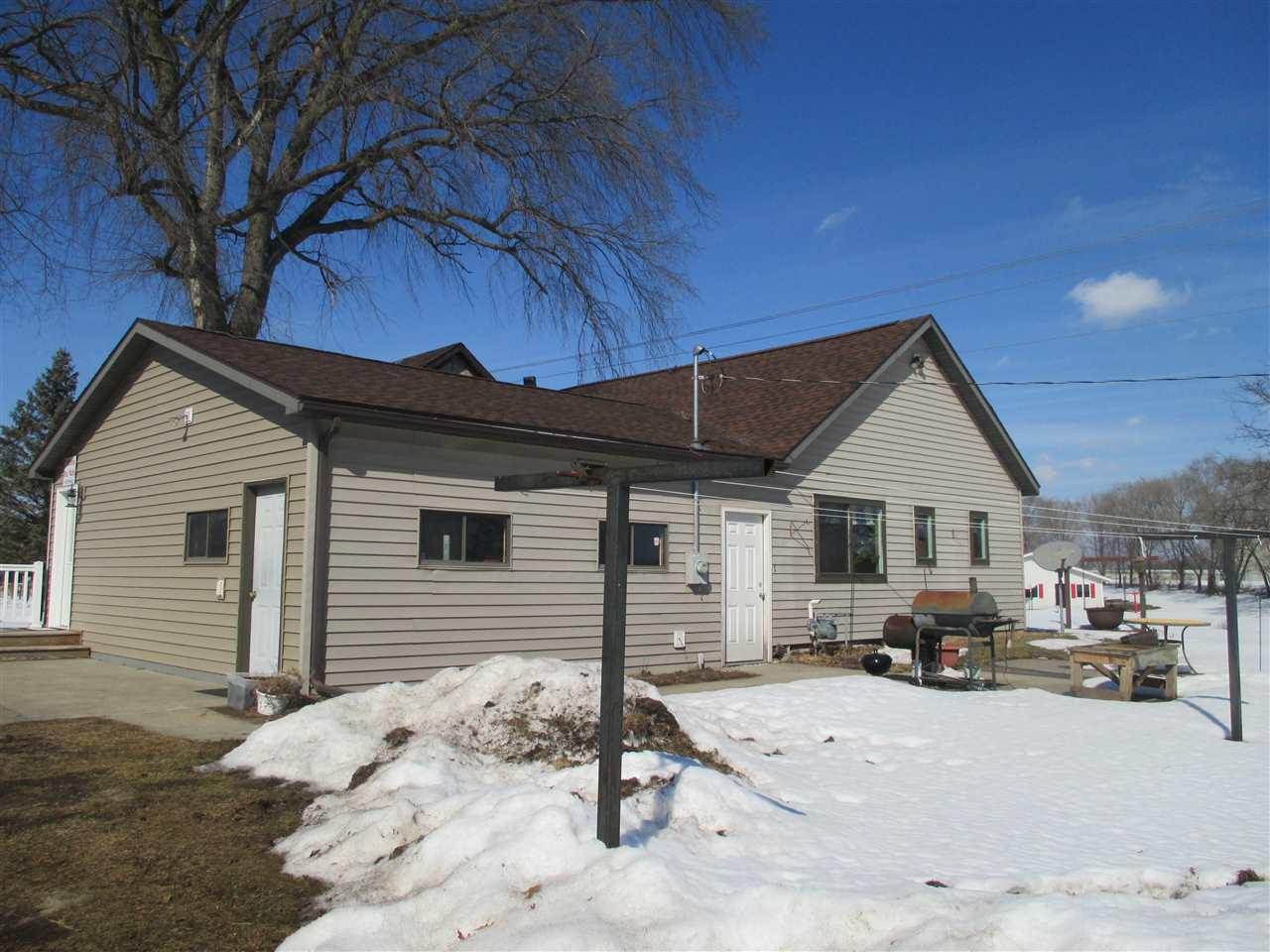 View Single-Family Home For Sale at N3849 Hwy 22, Montello, WI
