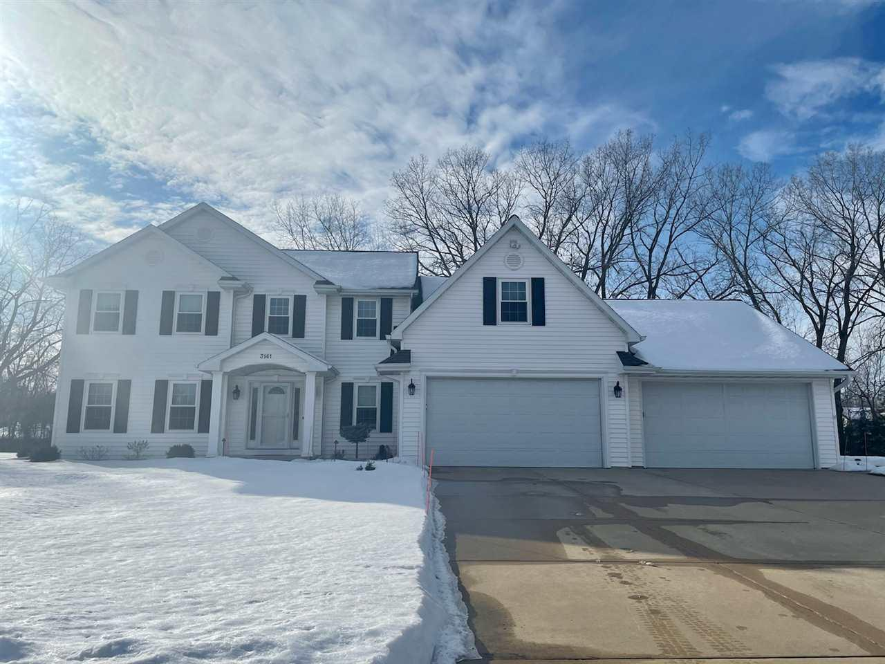 View Single-Family Home For Sale at 3141 HARBOR WINDS DRIVE, Suamico, WI