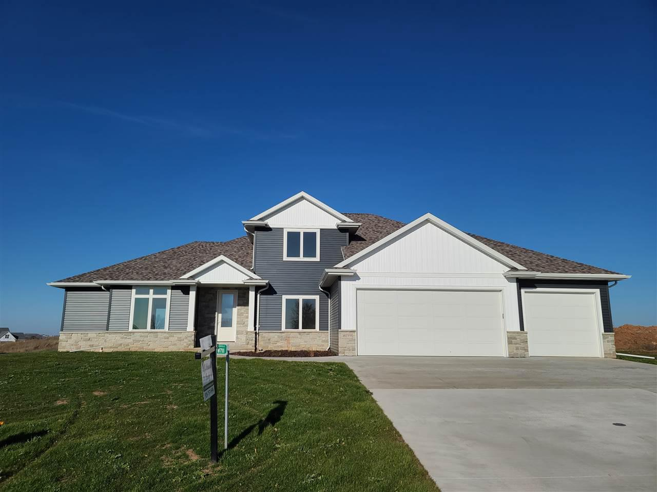 View Single-Family Home For Sale at W7111 RIDGELINE TRAIL, Greenville, WI