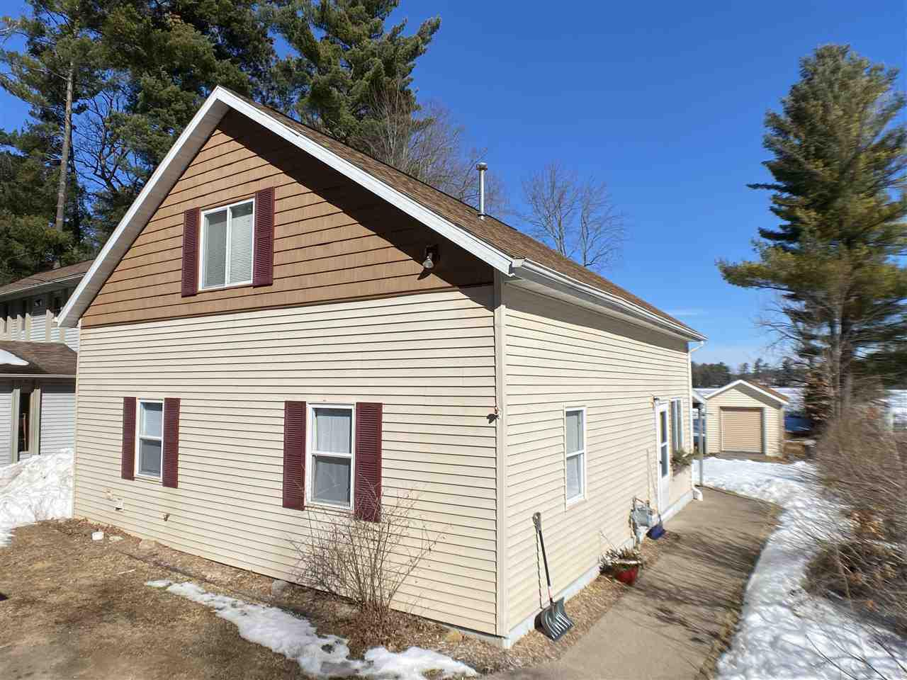 View Single-Family Home For Sale at W8568 ADAMS BEACH DRIVE, Clintonville, WI