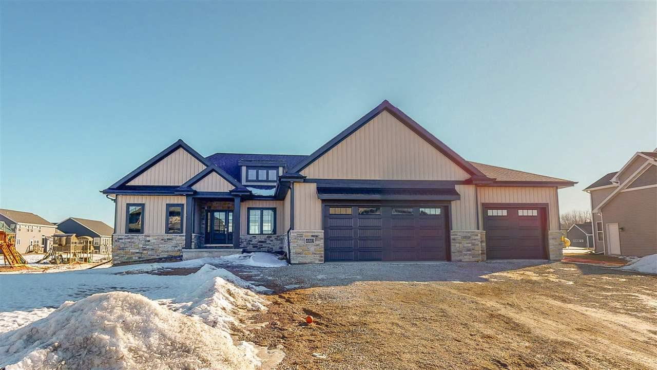 View Single-Family Home For Sale at 4885 PRAIRIE SCHOOL DRIVE, Hobart, WI