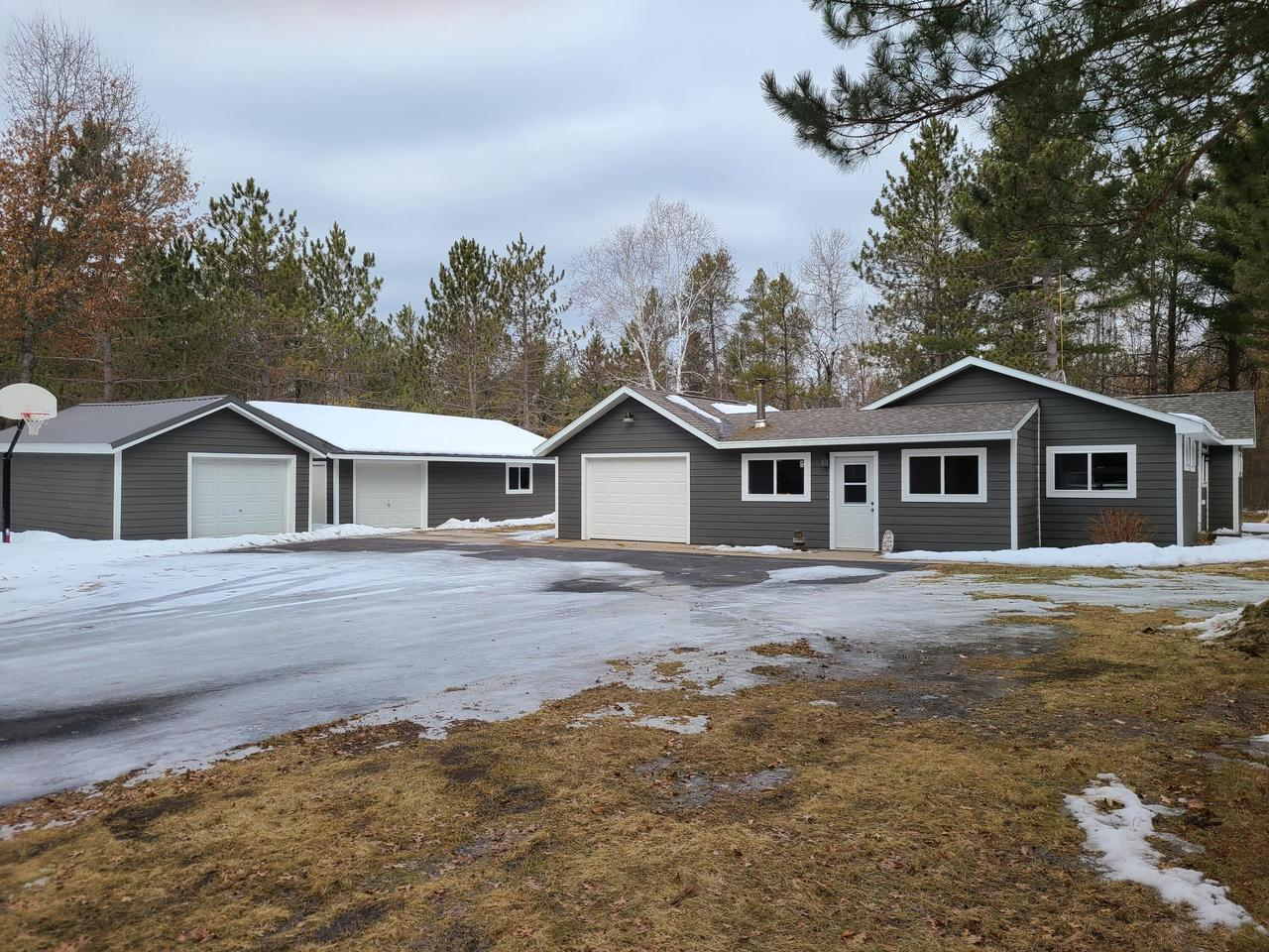 View Single-Family Home For Sale at W11734 Entrance Blvd, Crivitz, WI