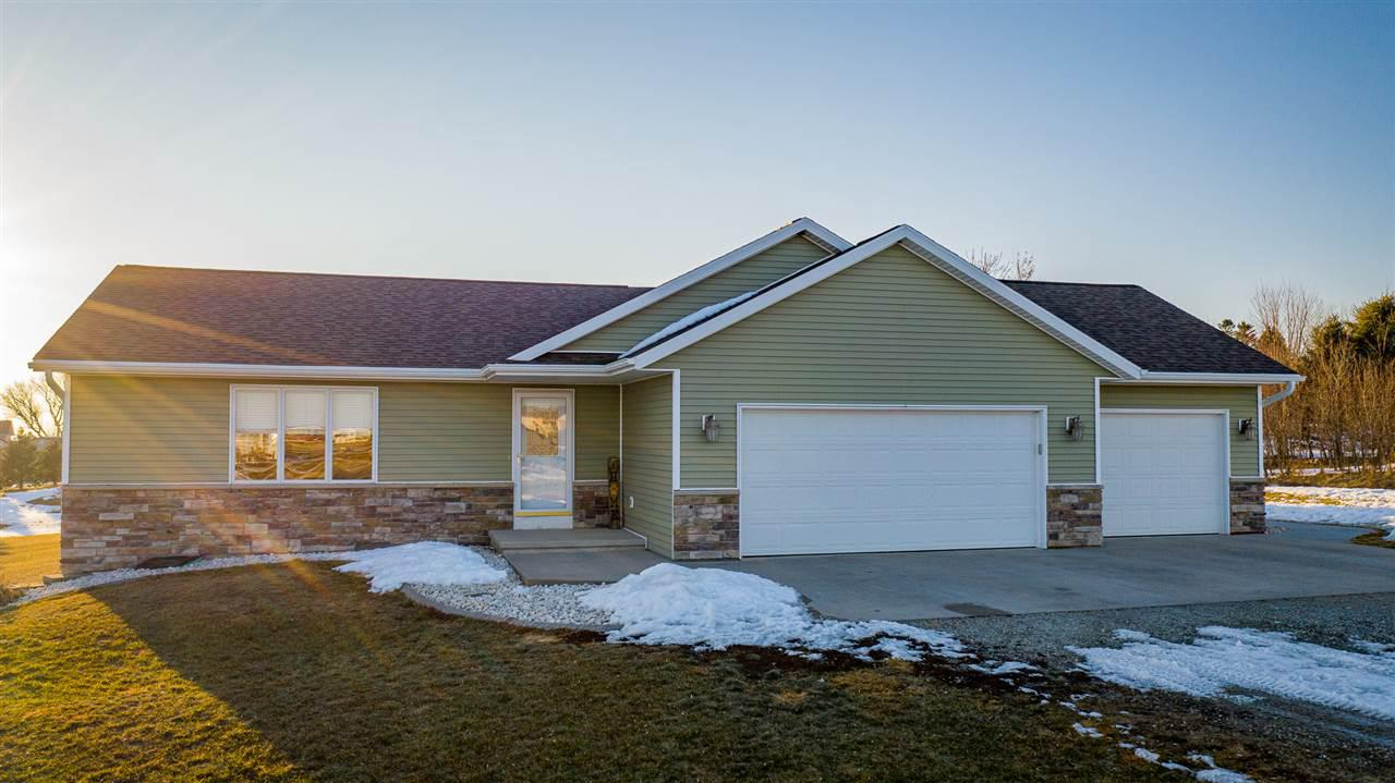 View Single-Family Home For Sale at N4539 JER MAR LANE, Shiocton, WI