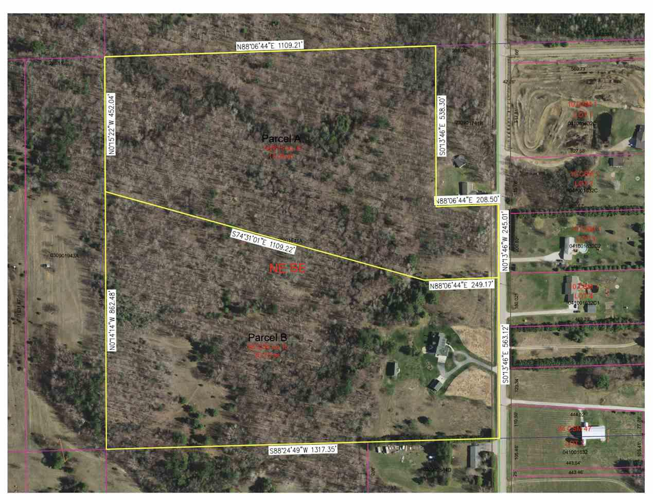 View Vacant Land For Sale at CROSS ROAD, Sobieski, WI