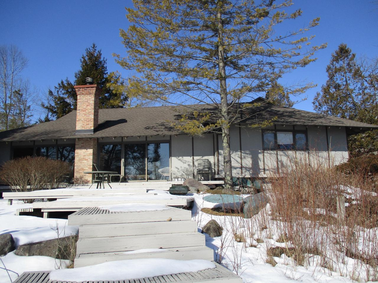 View Single-Family Home For Sale at N891 Marine Dr, Cedar Grove, WI