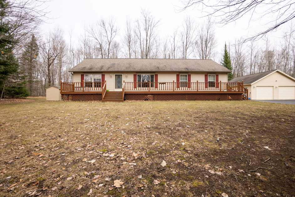 View Single-Family Home For Sale at 17400 LAKE JOHN ROAD, Lakewood, WI