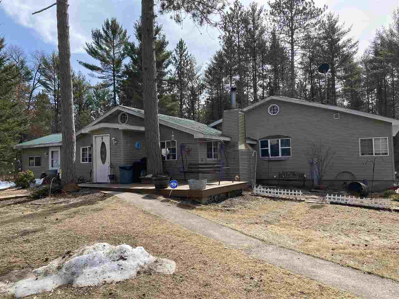 View Single-Family Home For Sale at W8271 HWY 8, Pembine, WI