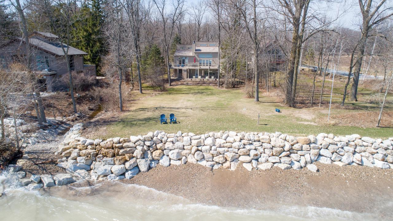 View Single-Family Home For Sale at 6892 Jay Road Bch S, Cedar Grove, WI