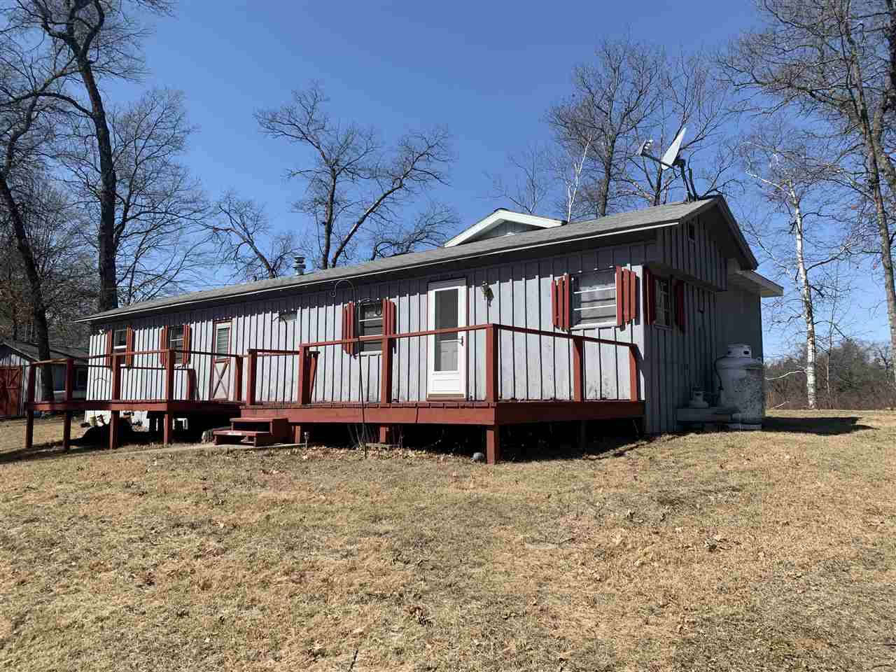 View Single-Family Home For Sale at N16343 DAM ROAD, BEECHER, WI