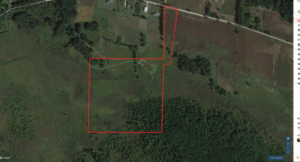 View Vacant Land For Sale at 45 AC Gale DR, Endeavor, WI