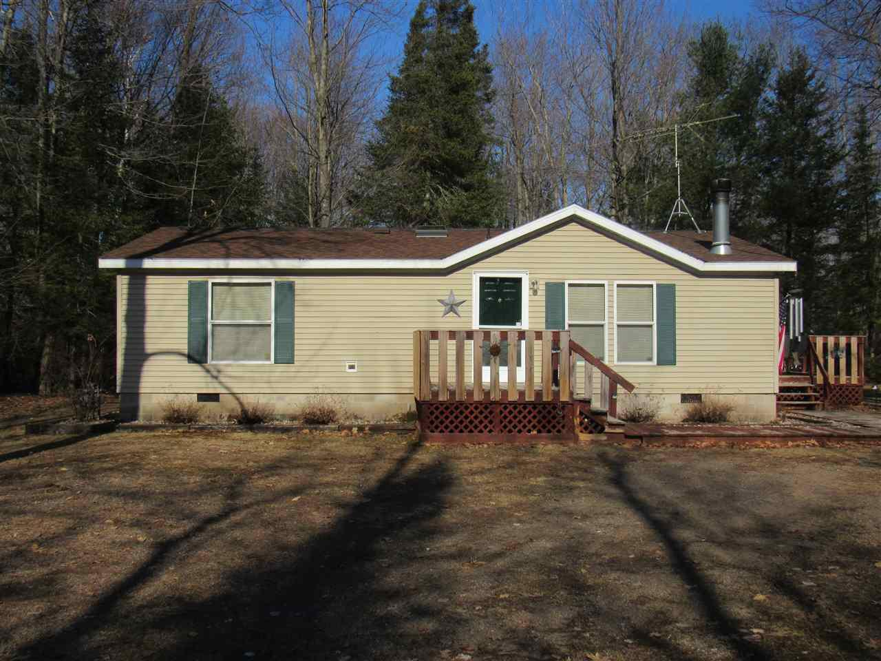 View Single-Family Home For Sale at 15590 VALENTINE LANE, Mountain, WI