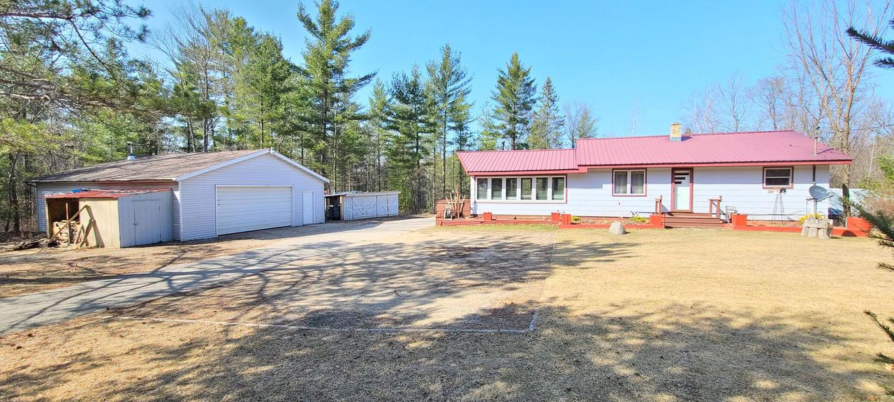 View Single-Family Home For Sale at W7492 County Road Z, Pembine, WI