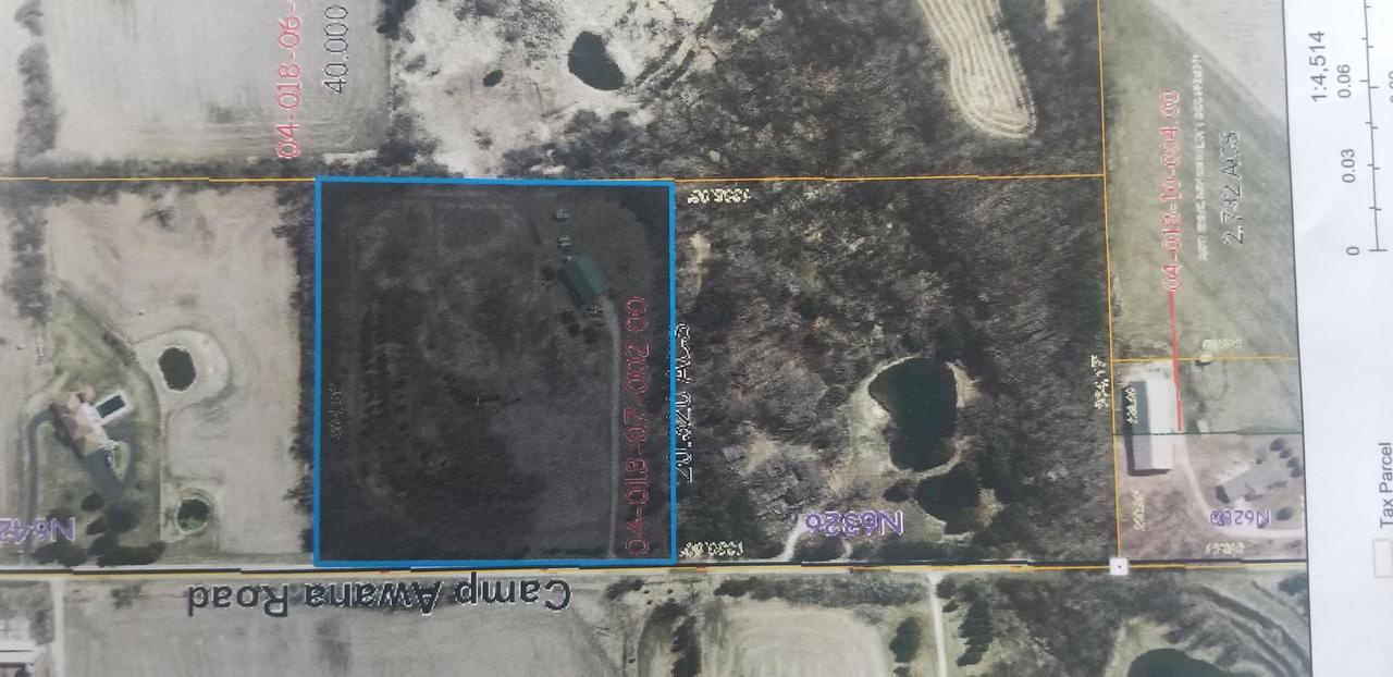 View Vacant Land For Sale at LT1 N Camp Awana, Fredonia, WI