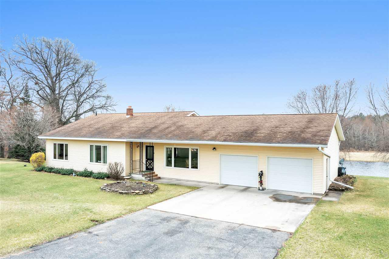 View Single-Family Home For Sale at W8610 KUCHTA ROAD, Crivitz, WI