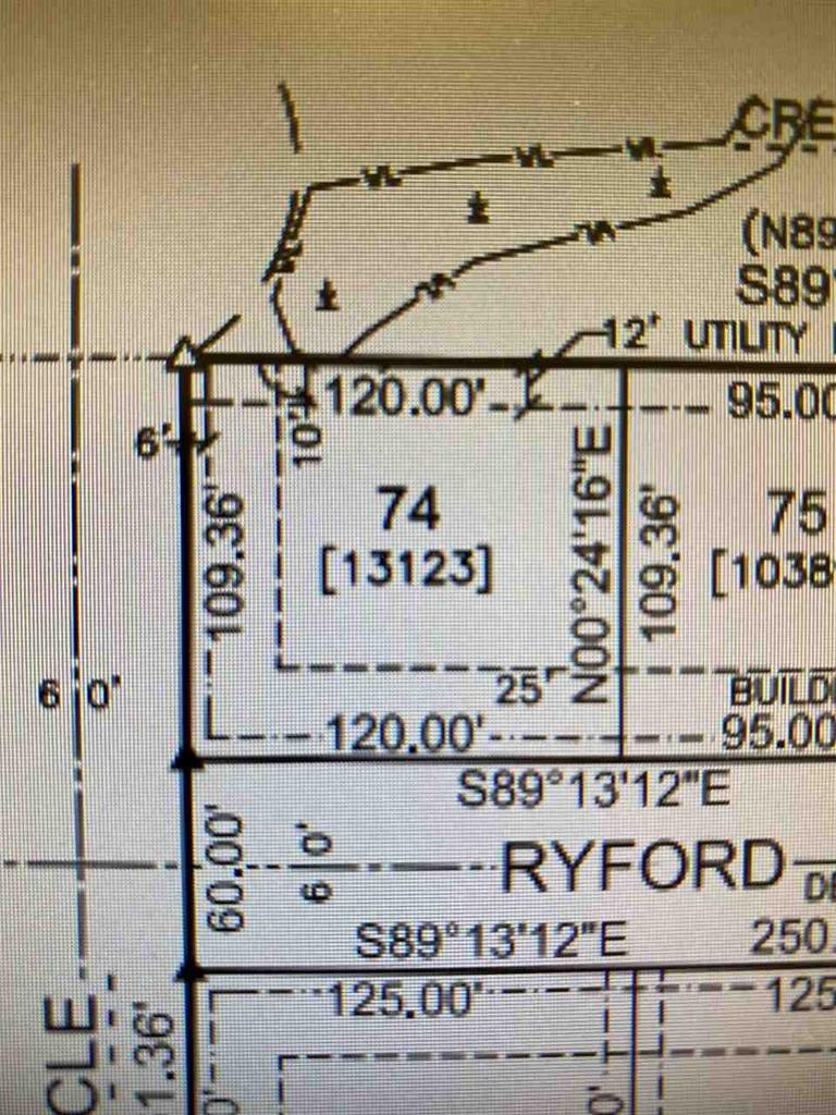 View Vacant Land For Sale at W5982 RYFORD STREET, Menasha, WI