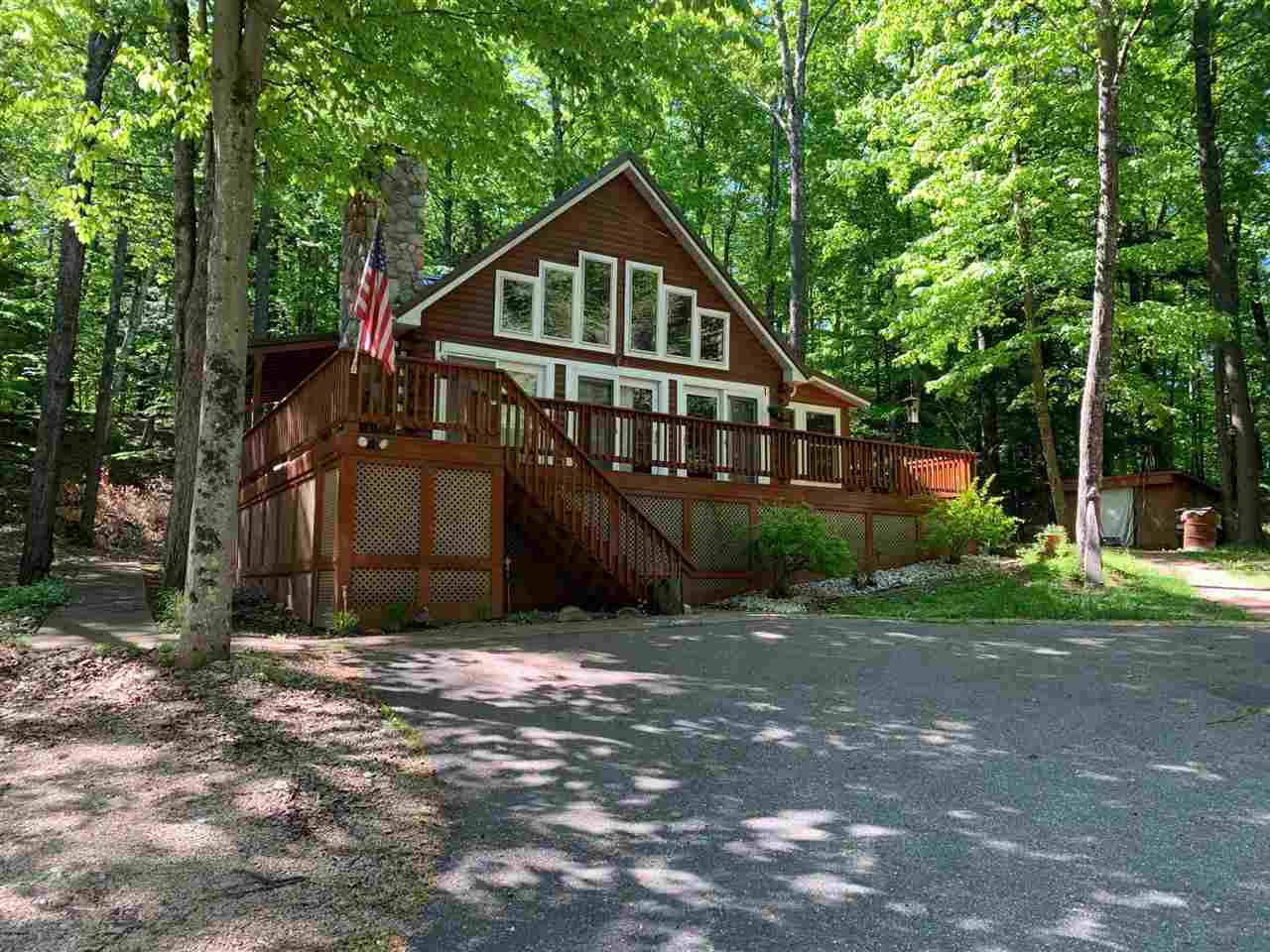 View Single-Family Home For Sale at N12665 HEMLOCK SHORES COURT, Athelstane, WI