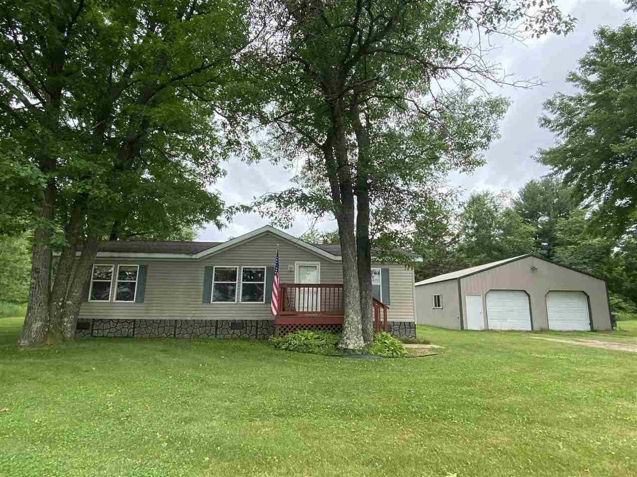 View Single-Family Home For Sale at W8619 HWY 356 ROAD, Stephenson, MI