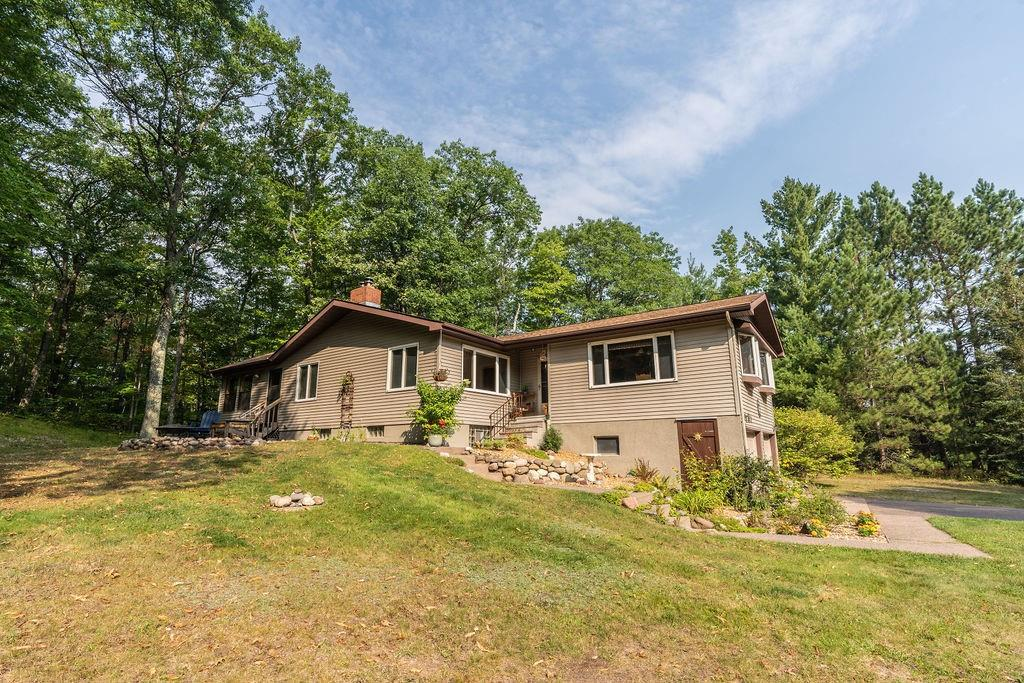 View Single-Family Home For Sale at 7215 County Road S, Lake Nebagamon, WI