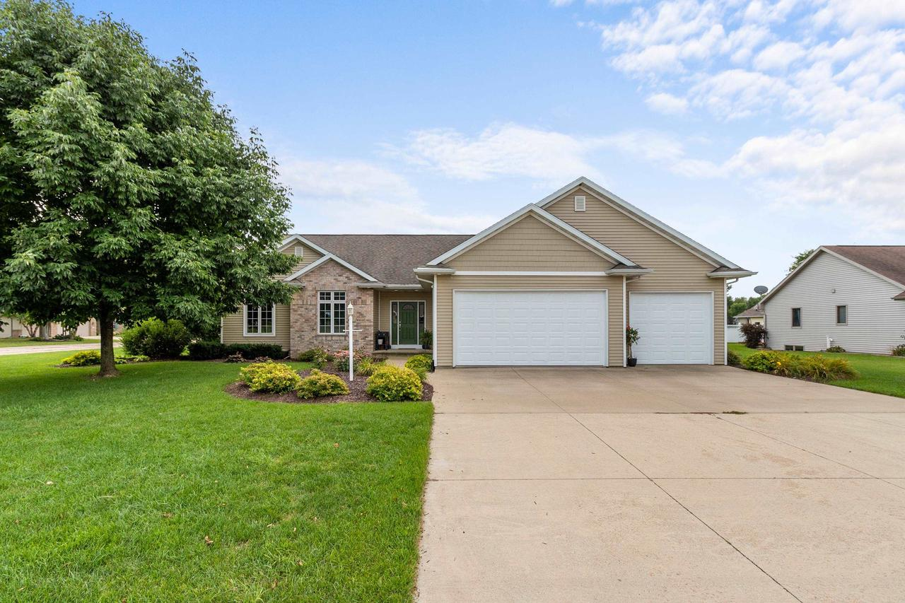 View Single-Family Home For Sale at W6123 SHAGBARK HICKORY LANE, Menasha, WI