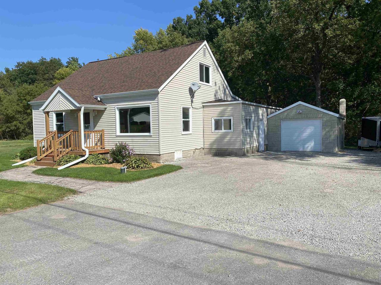 View Single-Family Home For Sale at N6078 HWY 180, Marinette, WI
