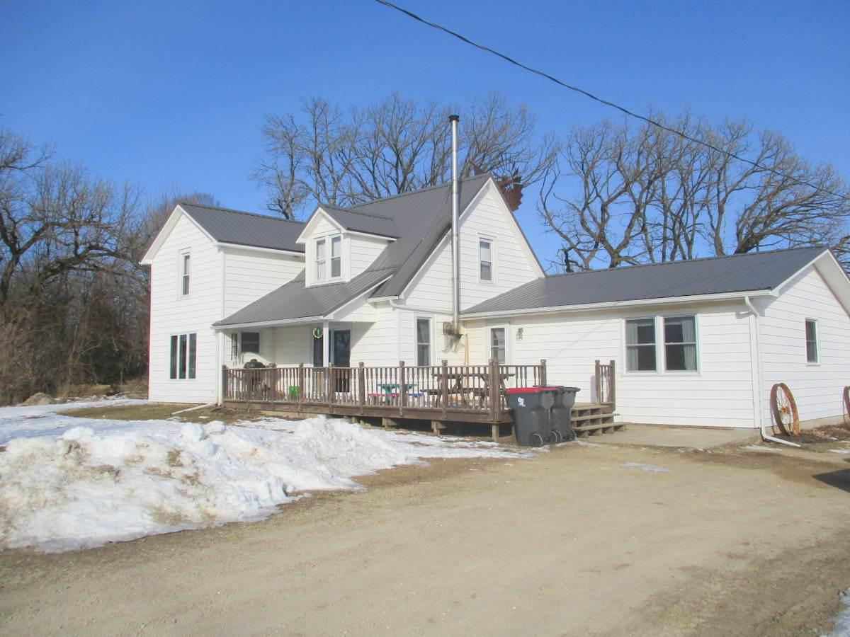 Updated, well maintained farmhouse with four bedrooms and two full baths. Excellent outbuildings and a perfect set up for houses o a hobby farm. Situated on twelve acres with some tillable. Great LOCATION!