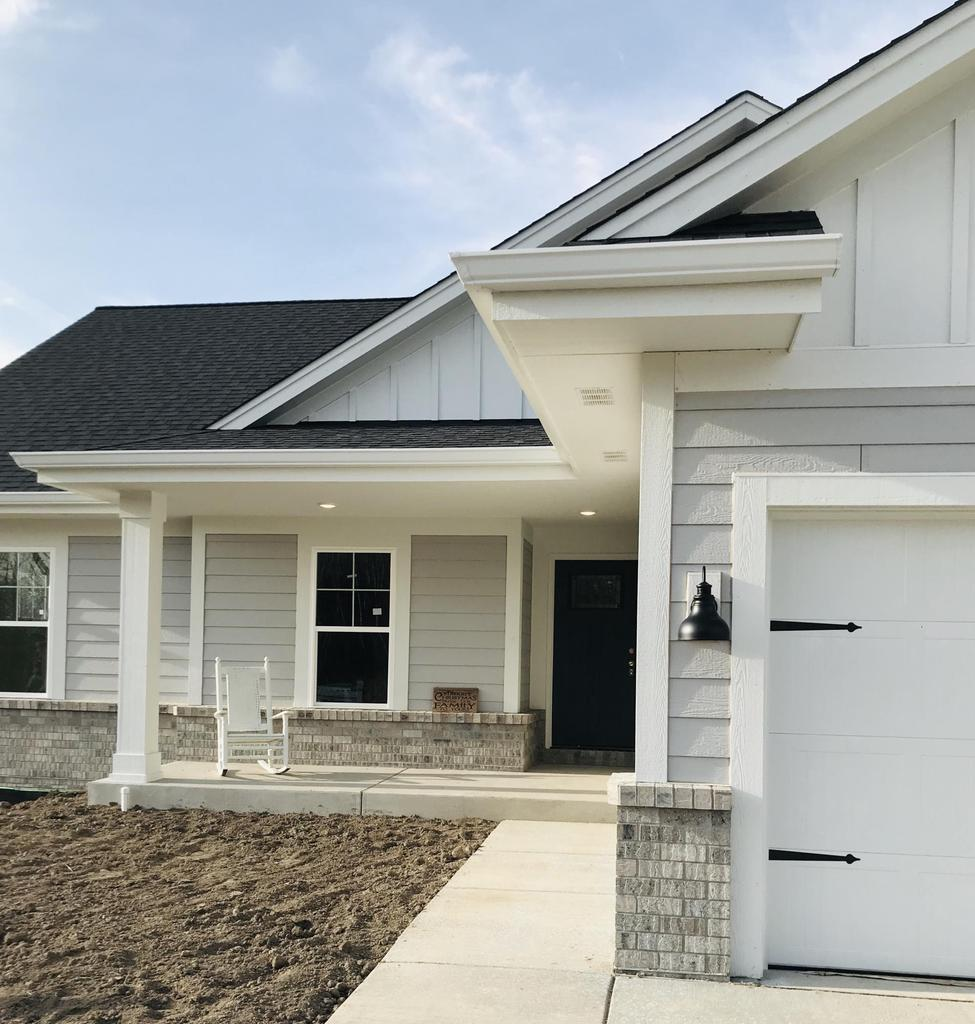 $366,600. SLINGER SCHOOLS! Grand GENEration Homes newest ranch has 3BDRM/2 BA with a 4th bdrm and 3rd BA ready to finish. This house features a spacious open concept design! Detailed features include 17 ft covered patio entrance, amazing views, tray ceilings, extra-wide custom molding, arched doorways, granite countertops, tiled walk in shower, sliding barn doors, and a gas fireplace with a hand-hewn barn board mantle. Gourmet Kitchen boasts Kohler fixtures, a stainless hood, floating shelves, and a pantry! Builder has the basement ready for you to customize and complete with walk out door, and full-size windows. This house has it all! Not a detail missed. Pictures just don't do this house justice! Schedule a showing today!