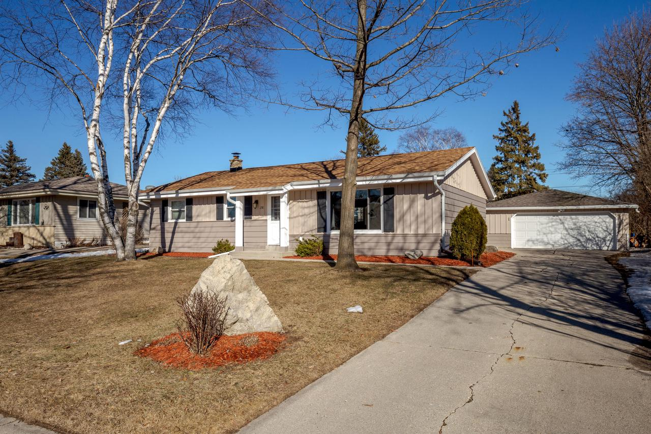 Updated ranch home with finished basement and large fenced in back yard in perfect condition! Spacious kitchen with plenty of counter space open to large dinette area. Sunny and open! Fantastic new finished basement with space for the family to chill or play and additional full bath and bedroom with egress window. New tear off roof in 2019, basement finished 2019, newer mechanicals and windows. Backyard features with a beautiful fire pit with sitting area and a screened porch for gatherings in summer without the bugs bothering you. Ideal location: close to parks, shopping and freeway. Updated and meticulously maintained, ready for you to move in.
