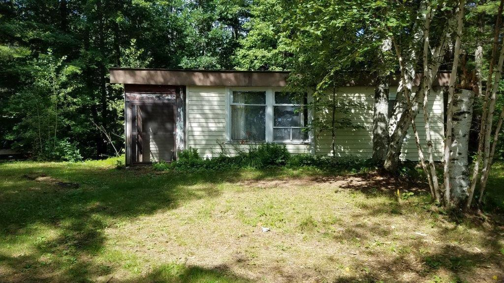 Perfect place to step away from civilization!  Primitive 3 season cabin on the Slim Creek Flowage.  Excellent Bass and pan fishing.  Just down the road from lots of County land for hunting and exploring.  Large lot for guests to park a camper or pitch a tent as well.