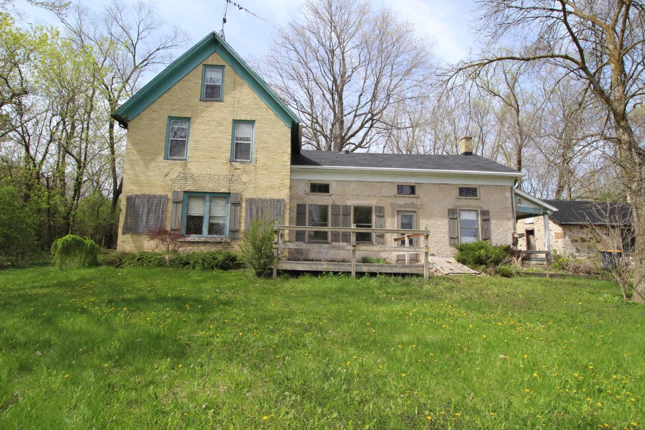 No calls!! Emails inquiry to pwrhsllc@gmail.com. Not financiable. Cash only. Incredible opportunity! Over 2300 Square Foot 1840's Farm House with 5 Bedrooms settled on over 2.8 acres and so much more! Room & lot sizes are estimates & all information should be verified. Seller will NOT make any repairs. No condition report will be provided. Buyer is responsible for all related cost for utilities, well and septic testing /pumping and to dewinterize and rewinterize property for inspections/appraisal.