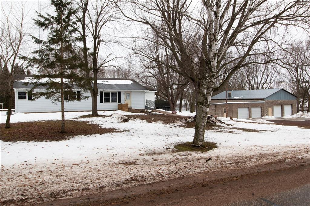 Great location for hobby farm or self-employed (plenty of room for equipment and/or toys). All outbuildings have electricity. 30x24 barn w/2 hydrants, 14x14 chicken coop, 34x50 garage, 32x30 garage. Outdoor fish pond. Huge garden area. Grape vines, rhubarb, apple trees, asparagus, walnut trees. One owner home. 3/4 of property is fenced in back. Willow Creek runs through the property. Concrete vault area off back foyer. Jacuzzi tub. Walk-in closet in main bedroom. Lots of potential. See amenities