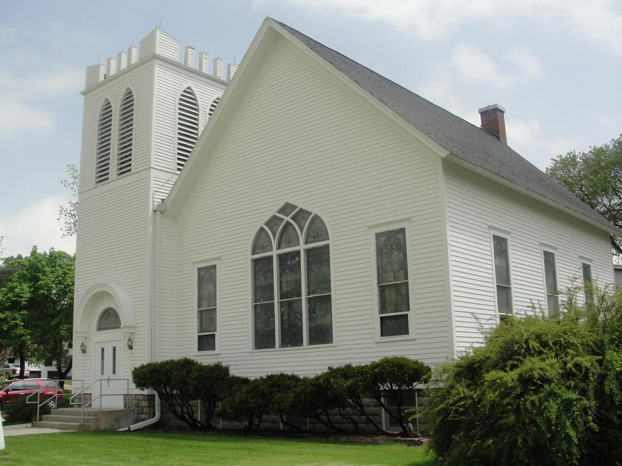 Currently a church, this beautiful well maintained old building would lend itself to being rehabbed into a unique residence. The zoning is currently R-3, Single Family Residential. Ap. 2,532 SF above grade, plus a large below grade that is currently utilized as a fellowship hall with a kitchen and two lavatories. Elevator. Two gas forced air furnaces. Gorgeous stained glass windows. All pews are included. Bring your ideas! See Sketch in Documents. Also see MLS #1625748 for listing information regarding a nearby vacant parcel that the church utilizes as additional parking/open space. Buyer to verify all dimensions/square footage.