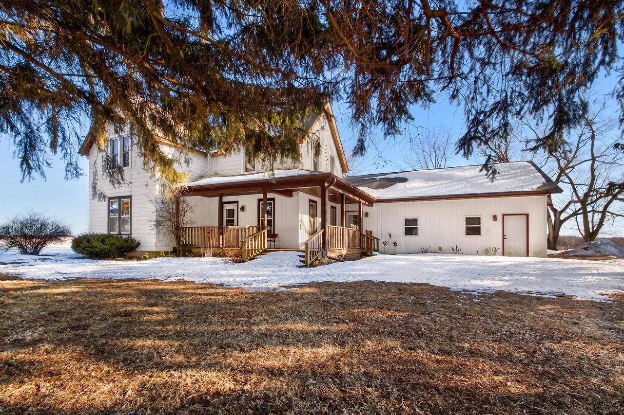 Beautiful country hobby farm that has been recently updated w/ 3 to 4  bedroom  2 1/2 bath house on 7 acres with 4 acres tillable.  (currently leased for $175 per acre). New addition to the house  features a stunning family room w/vaulted ceilings and an additional full bath.  Brand new well installed in 2019 & mechanicals have been recently replaced.  Sellers have just finished remodeling kitchen with new stainless steel appliances, cabinets & ship-lap ceiling.  Home also features a large porch, a deck & another covered porch perfect for watching amazing sunsets. 20 x 20 Pole building with enough room for all your toys  plus an additional 1 1/2 car attached garage. ''Due to the recommendation of social distancing to prevent the spread of COVID-19, this property will not be shown''.