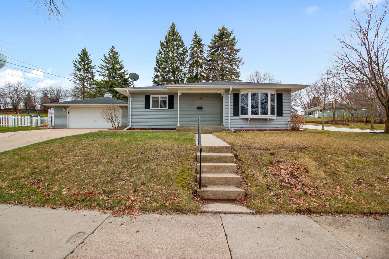 Don't miss this beautifully updated ranch in the heart of Waukesha! Stunning home features more updates than you can count in the last 5 yrs-Freshly painted open concept interior including all baseboards & trim, carpet & flooring, 6-panel doors, french drain installed, poured patio, window treatments, and a lot of mechanicals & appliances have recently been replaced. A large feel with its bright airy layout & open concept feel where KIT flows beautifully into dining area & spacious living room! Originally a 3BR, can easily be converted back. Partially finished basement space is perfect for entertaining & sports. 2 bonus rms for home office & storage. Private back yard w/poured patio, spacious lot, shed and 2 .5 car garage. Located near schools, parks, shopping, & more. Welcome home!