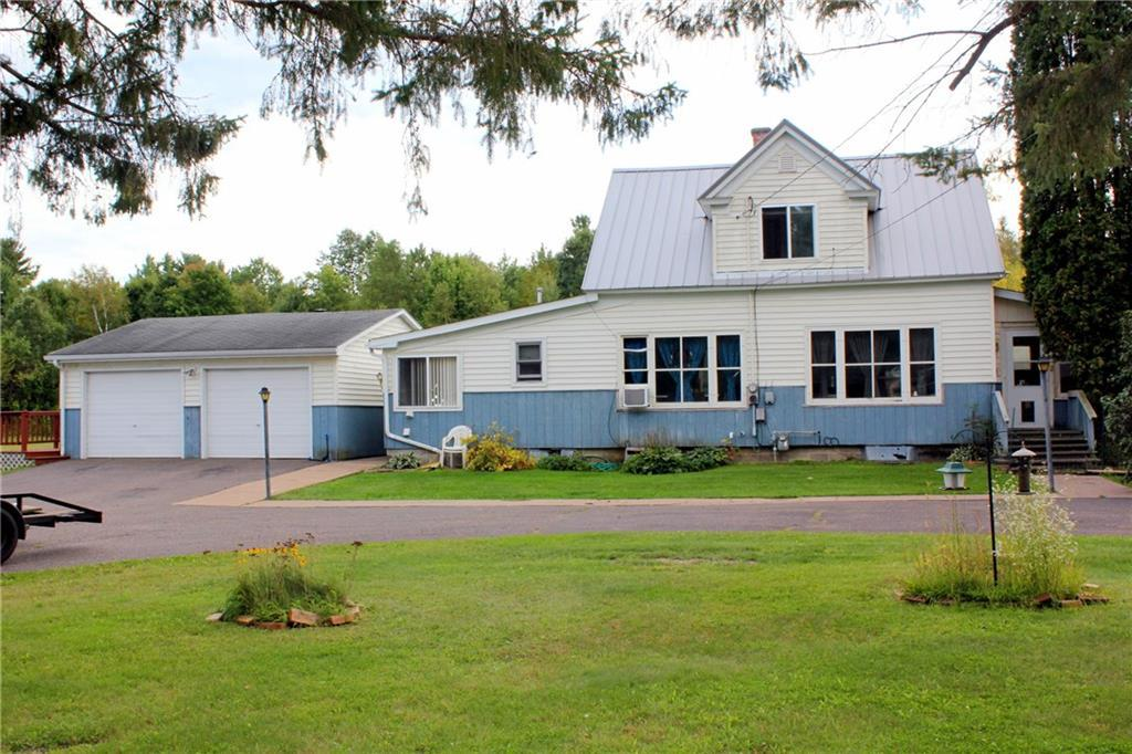 LOCATION  LOCATION  LOCATION!!  Excellent setting for a family friendly home, just on the outskirts of Ladysmith on a quiet, dead end road. This 3 bedroom home features a new furnace, steel roof, black topped horse shoe driveway and storage space galore with a 2 car detached garage and a 24 x 34 pole shed. Situated on a large, double lot near the end of the road. Now priced to SELL! See it soon.