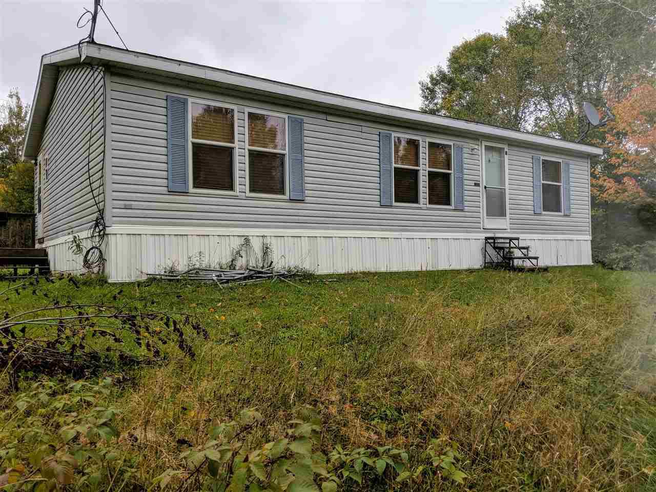 RECREATION! 3 bedroom 2 bath home on 40 acres!! The home has an open concept feel with nice size kitchen and living area. There is a master bedroom with a large walk in closet and an attached bathroom, 2 additional bedrooms and another bathroom. Outside there is a heated 1 bedroom 1 bath guest cabin that could be used as is or converted into a garage or heated work shop. This property is a great recreational paradise. It is located on the ATV route, and just minutes from Soo Lake and over hundreds of acres of public hunting land! Call today for your own private showing!