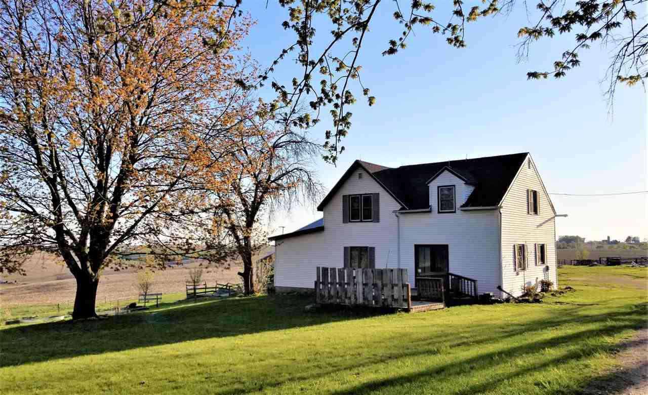 5-ACRE HOBBY FARM; 3bd. 1bath, 1600 Sq.Ft. Farmhouse, 64x72 POLE BARN w/garage-workshop space & 16x64 Lean, 60ft.Round Pen (Corral) for HORSES, FENCED PASTURE.  Dead End Road. Built in 1920s House additions in 60s and 80s. Added insulation 2008, Metal Roof on South Addition in 2014, New Water Heater 2019, 100amp Breaker Panel. Many new vinyl windows, vinyl siding. South-facing Garden Spaces. Fruit Trees, Perennials,  AMAZING VIEWS AND SUNSETS! Convenient spot in the Country. 15 min. to Viroqua or the Mississippi River. Viroqua or DeSoto School District. READY TO MAKE IT YOUR OWN. MOTIVATED SELLER! MAKE AN OFFER.