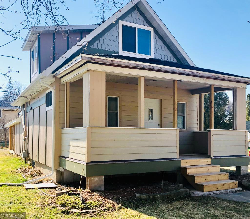 Adorable, fully updated and remodeled home on a corner lot!  Original hardwood floors have been refinished,  new cabinets in kitchen with butcher block countertops, fully updated bathrooms, fresh paint, siding and roof updated, new covered deck in back yard.... the list goes on!  Be sure to come see this gem!!