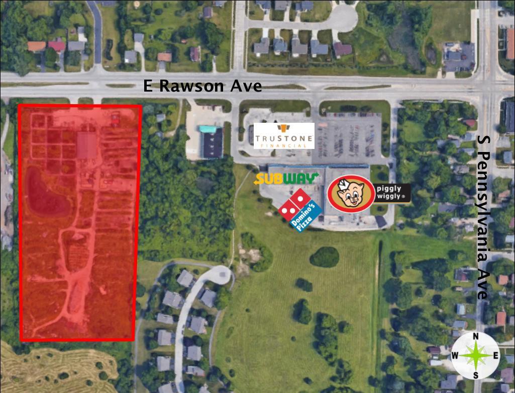 1901 E Rawson Ave AVENUE 1941, OAK CREEK, WI 53154