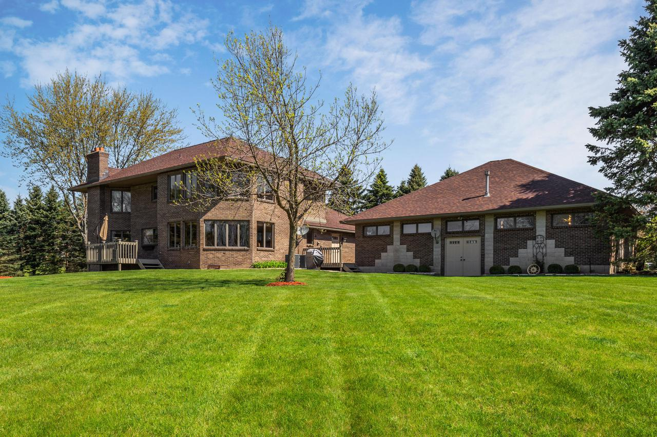 Here's your chance to own a custom 2 story executive home located in prestigious Lake Geneva Aire Estates. There is nothing to do but move in to this well built and cared for home. Located just east of Highway 12 close to Lake Geneva, shopping, ski hill, golf courses and resorts with easy access to I94, Milw, and Chicago. You'll love the beautiful rolling terrain and enjoy fishing, hunting, snowmobiling and of course flying. Assoc. Amenities Include 2300' Paved/Lighted Landing Strip & 20-Acre Park with Pond, horses are allowed. The expansive windows provide plenty of natural light as well as stunning views of mature trees. Poss. in-law suite located on lower level. The 44x40 heated hanger has many other uses as flying is not required to own this gorgeous home!