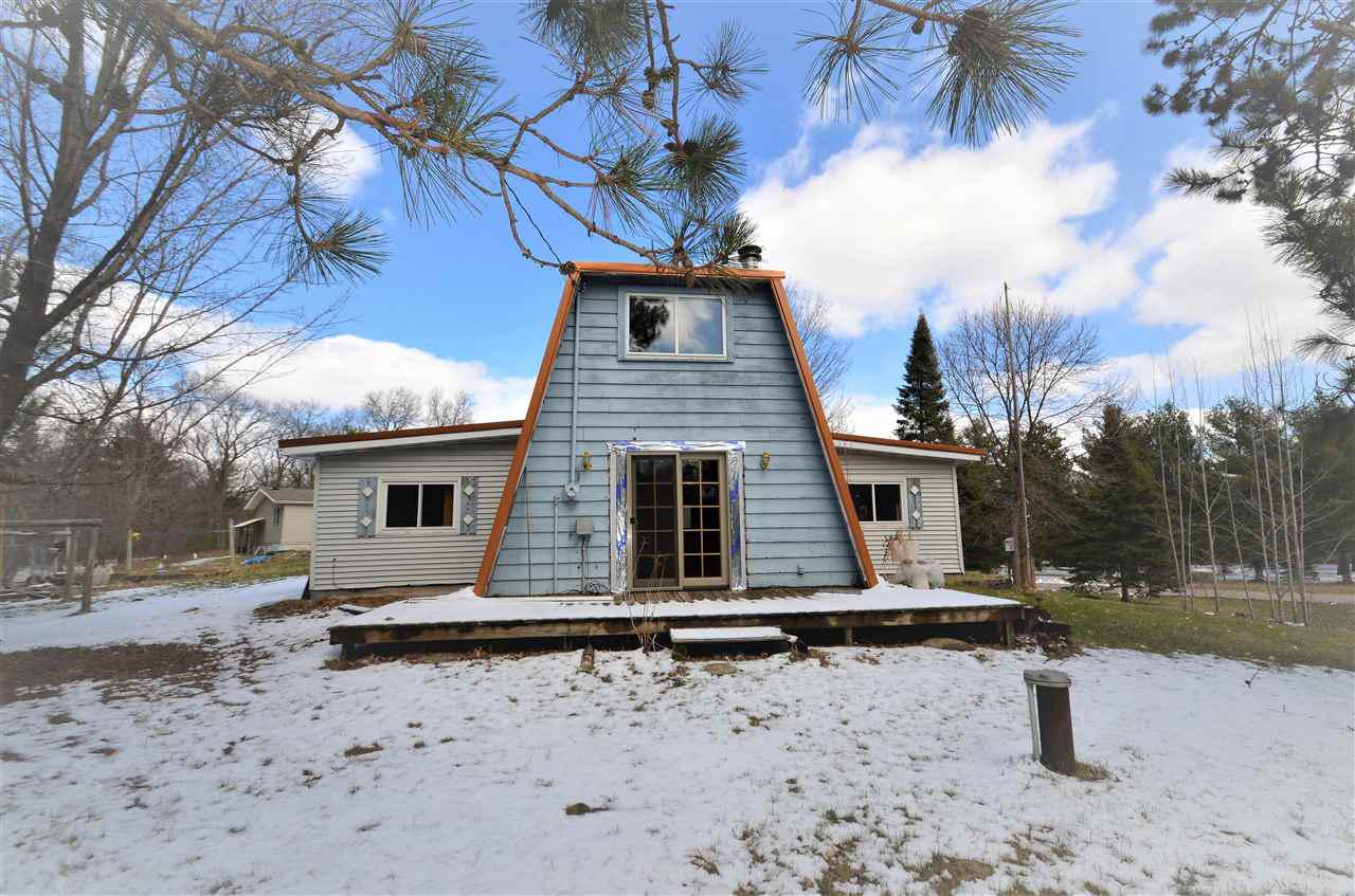 Bigger than it looks!  3 bedroom with 1 1/2 baths.  Updated living room.  Close to Shawano County Parks, many lakes in the area and downtown Shawano.  Estate sale.  Sold as is.  No garage, no basement.