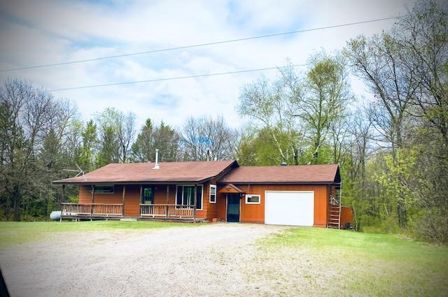 Great recreation getaway cabin or remote year round home featuring excellent deer hunting with hundreds of acres of public land all around and Gov. Knowles State Forest for horseback riding and snowmobiling -- trails only  mile away!  The St Croix River is 1 mile away and you can also enjoy area ATV trails.  This move in ready property has been remodeled over the last 5 years featuring knotty pine finishes, new furnace, water heater, flooring, paint, new well,drain field, and more!  Relax, recharge, and embrace 4 seasons of recreation at your fingertips!