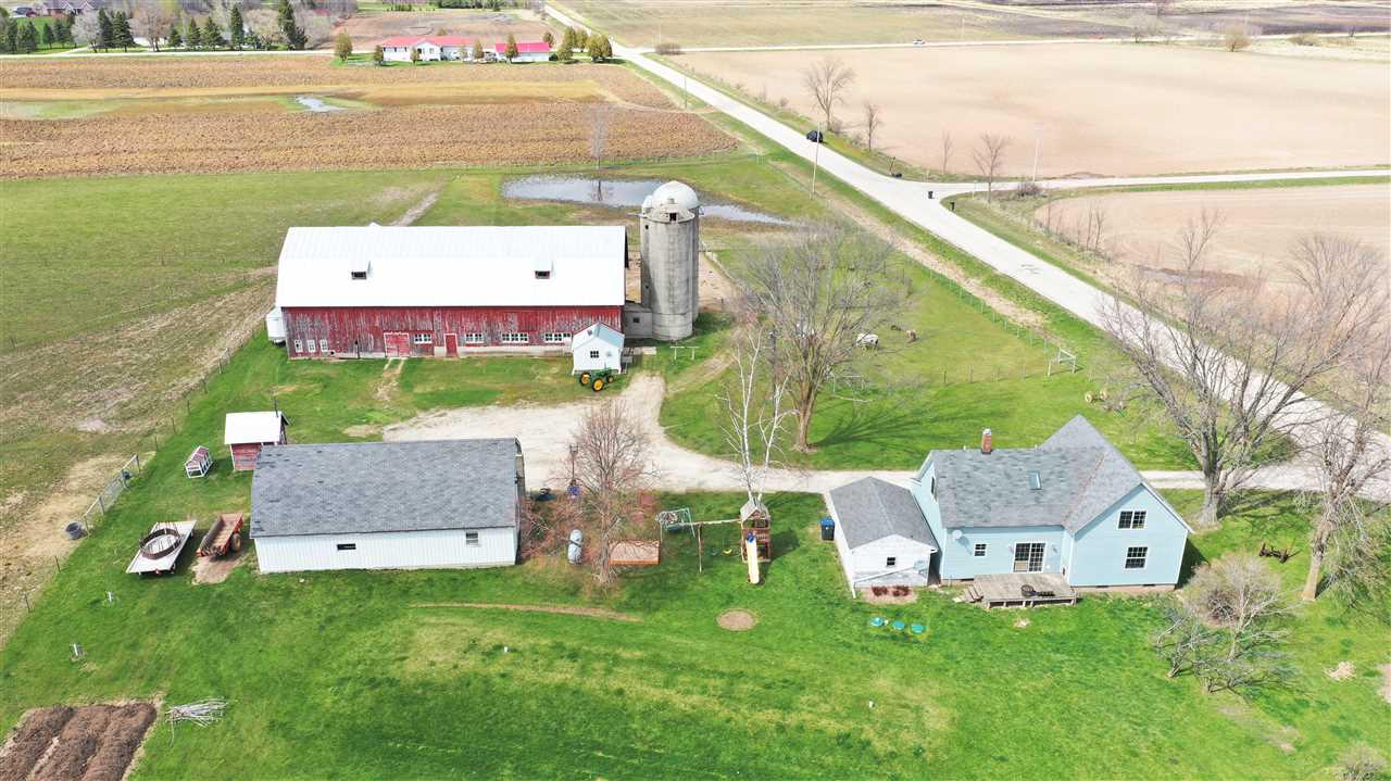 Charming Farmette -enjoy the character filled updated home including the most recently remodeled kitchen along with all the property and outbuildings you could desire for your hobbies or farm animals.  The fencing has recently been redone for the pasture and the gardens are ready with compost to plant and harvest throughout the season! The location is amazing. Request the drone footage to view it all for yourself. This is the home and setting you have been dreaming of! Showings to begin Saturday, 5/9/20