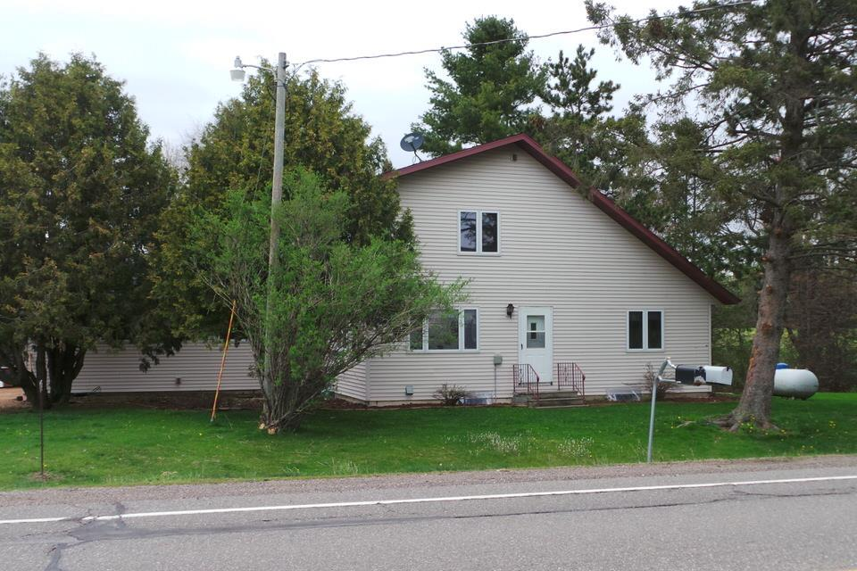 Looking for that hobby farm and country living? 25.25 acres with a remodeled 3 bedroom, 2 bath, 2 story home, attached  heated & insulated 2 1/2 car garage and 70x36 Barn/machine shed.,Approx 10 acres of tillable land, 12 acres of woods with a stream running through and a 3 acre home site.