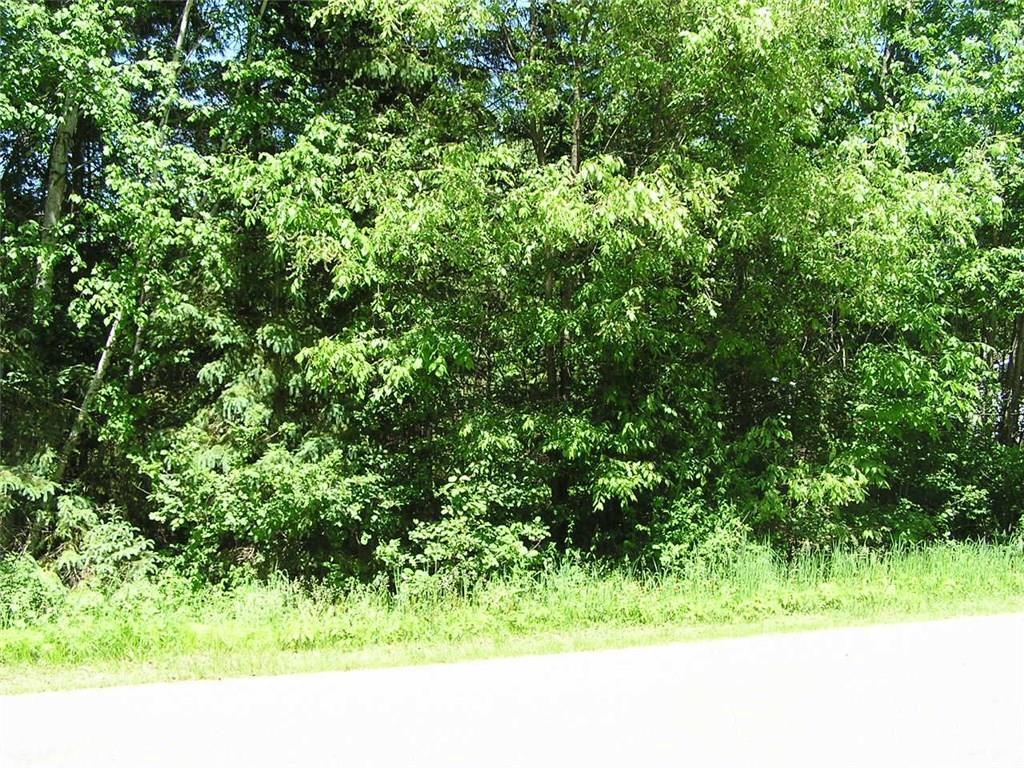 Building site on Mae West road almost an acre. wooded, nice area Close to Lake Flambeau  with a boat landing under 2 miles away Power pole at back of lots.