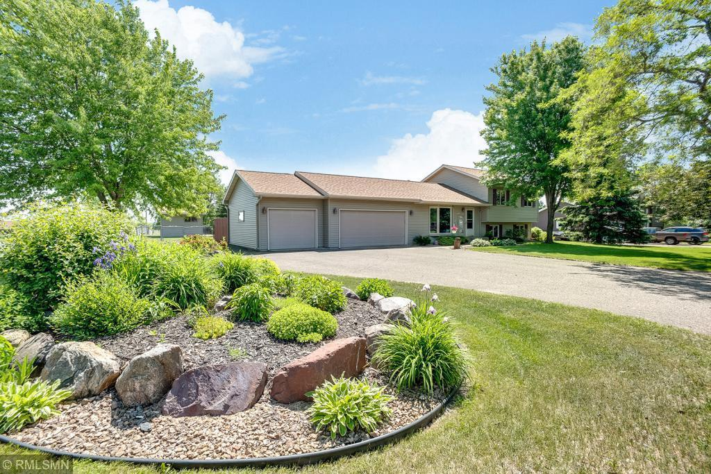 Welcome to your new home in the Village of Star Prairie.  Your new home features 3 bedrooms, 2 bathrooms, deck, patio, fireplace in the family room, a great fenced in backyard, 3 garage stalls and wonderful garden shed.