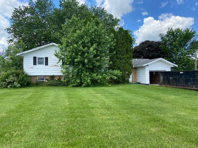 Hobby farm estate now selling. 4 bedroom 3 bath 4-level home with large deck, 32.66 acres. Pasture with pond, barn with 3 box stalls, 32x56 pole shed, 20x24 pole shed, chicken coop, beautiful setting with a gorgeous yard! Beautiful trees and so many possibilities. Home needs TLC, selling AS IS. Great spot for cattle, horses, etc!