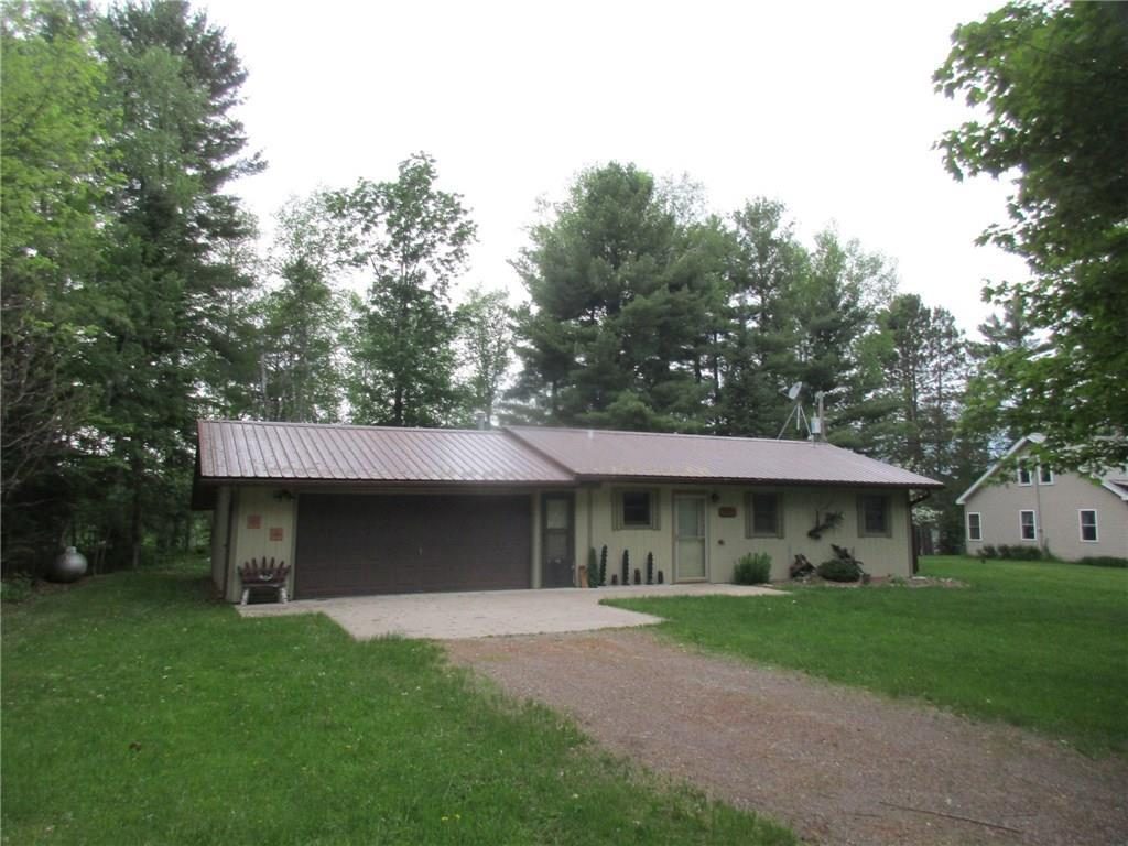 Adorably updated cabin in the heart of the Northwoods. West facing sunset views of the Lake. Newer Lp Furnace, well pump, metal roof & blown in insulation. Separate lakeside gazebo and a fire pit for those summer nights! Barber is an all around recreational lake for fishing, swimming & boating. Located near many recreational trails, national forest & minutes to town for all your needs. About half hour drive to Hayward, Ladysmith or Park Falls. Comfortable place to be safe and sound enjoying the solace and safety of nature and fun lake living!